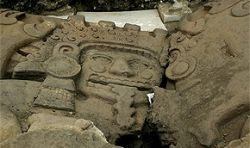 В Мехико найдена гробница вождя ацтеков