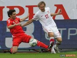 Жирков плакал от обиды после матча с Сербией