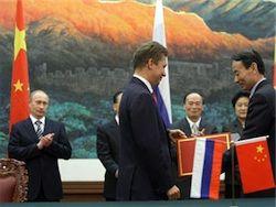 Переговоры между Россией и Китаем