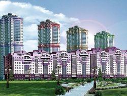 Подмосковье: новый район начал принимать жильцов