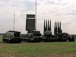 Белорусские военные участвуют в учениях ПВО СНГ