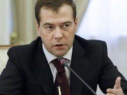 """Медведев поставил """"ребром"""" вопрос границы с Украиной"""