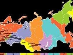 Три региона России переведут в другие часовые пояса