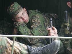Внутренние войска вводят психологическую помощь для воевавших