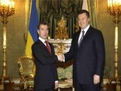 Что обсуждал Янукович с Медведевым