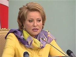 Матвиенко считает преждевременными вопросы о будущем губернаторе