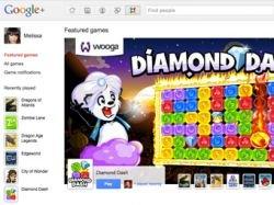В соцсети Google+ появились игры