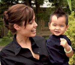 Сын Анджелины Джоли снимется в кино