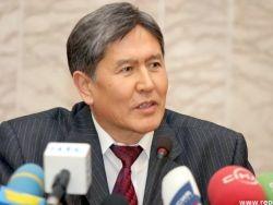 Атамбаев: базу ВВС США выведем в 2014 году