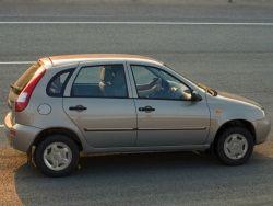В продажу поступила Lada Kalina с парктроником