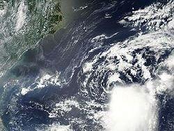 """Тропический шторм """"Франклин"""" сформировался в Атлантике"""