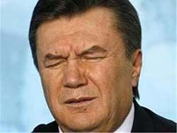 Трусость Януковича