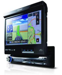 Pioneer представляет медиа-систему с GPS-модулем