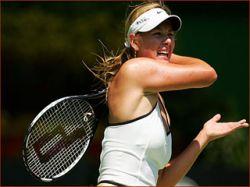 В полуфинале турнира в Сан-Диего Шарапова обыграла Чакветадзе