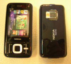 Первая «живая» фотография новейшего смартфона Nokia N81