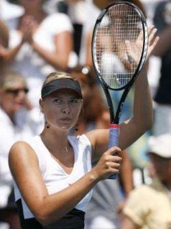 Мария Шарапова выиграла свой первый титул в этом году