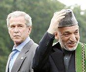 Буш и Карзай обсуждают безопасность