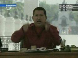 """Уго Чавес побил все рекорды: его программа \""""Алло, президент\"""" продолжалась 7 часов 43 минуты"""