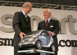 Smart получил гибридную и дизельную версию