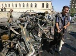 Смертник на грузовике убил детей в Ираке