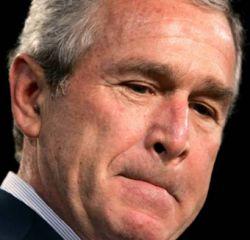 Джорджу Бушу грозит четыре выговора