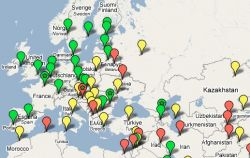 Всемирный Банк разработал глобальную карту бизнеса на основе Google Maps