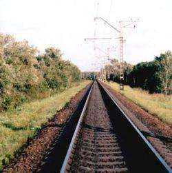 21 вагон грузового поезда сошёл с рельсов