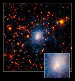 Обнаружено крупнейшее во Вселенной слияние галактик