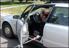 В Эстонии задержан слепой водитель без прав в состоянии опьянения