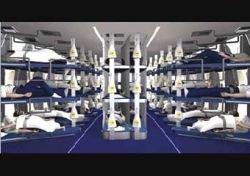 Lufthansa оборудует самолеты лежаками