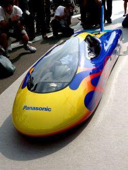 Panasonic Oxyride – электромобиль-рекордсмен на батарейках (видео)