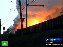 В аварии с желтым фосфором на Украине виновны железнодорожники