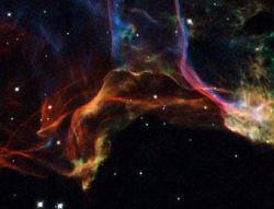 """Телескоп \""""Хаббл\"""" сделал снимки последствия взрыва в Млечном пути (фото)"""