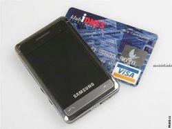 Samsung P520 – первые впечатления (видео)
