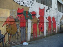 Работы итальянских мастеров граффити (фото)