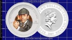 Выпущены монеты с портретами российских актеров из фильмов о Шерлоке Холмсе