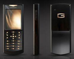 Gresso представила новые телефоны из африканского черного дерева и золота