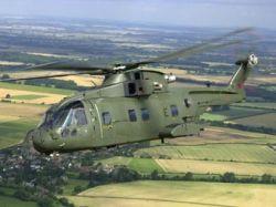 На северо-востоке Англии разбился военный вертолет