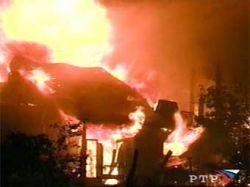 В Якутии сгорел детский дом
