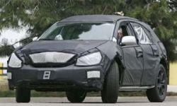 Появились шпионские фотографии Lexus RX 2009