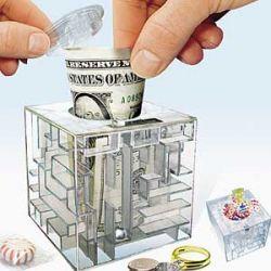 Money Maze – портативная копилка с повышенной функциональностью