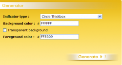 Ajax Loader : генерируем картинку-индикатор