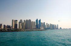 В Дубае пустили автобус по воде