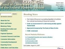 Федеральная резервная служба США массово скупает ипотечные долги