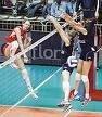 Женский Гран-при по волейболу: Россия выиграла у США - 3-2