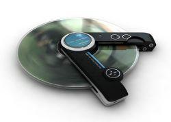 Концептуальный плеер для CD и mp3 дисков