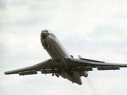 """В \""""Шереметьево\"""" аварийно сел Ту-154 с отказавшим двигателем"""