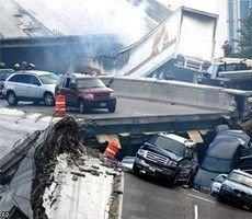 Из-под обломков моста в Миннеаполисе извлечен еще один погибший