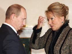 Матвиенко информировала президента о демографической ситуации в Петербурге