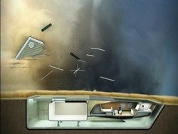 Ученые разработали проект антиураганного дома